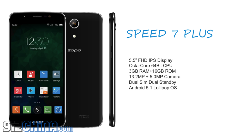 zopo speed 7 plus specifications