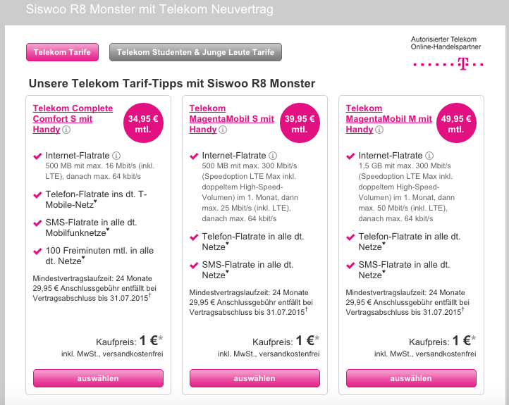 siswoo t mobile