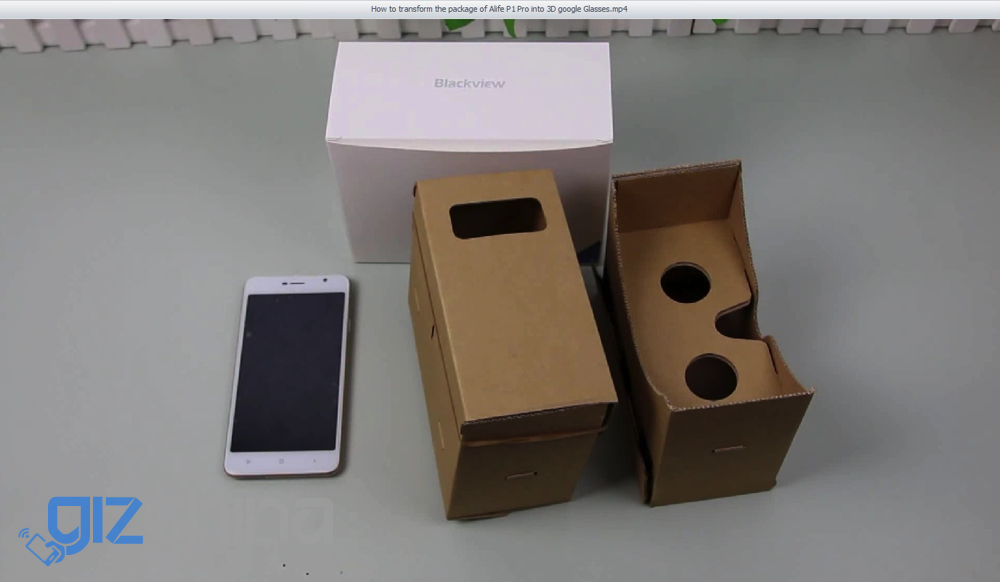 blackview alife p1 pro google cardboard