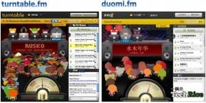 doumi.fm chinese clone of turntable.fm