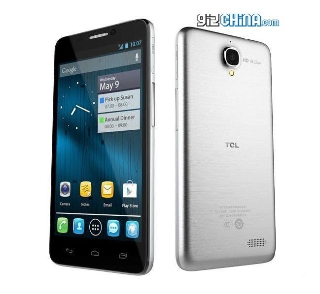 TCL S820 dual-core android phone china