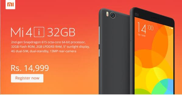 Xiaomi-Mi-4i India anniversary