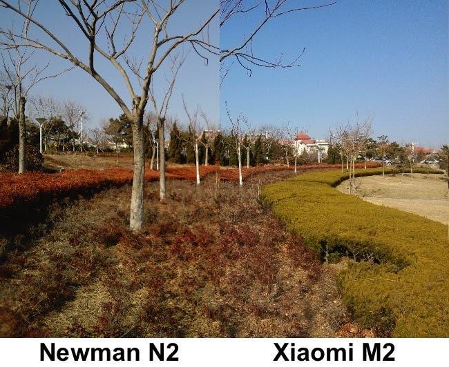 Xiaomi m2 vs newman n2 camera test