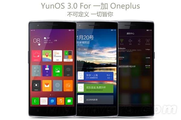 yunos oneplus one