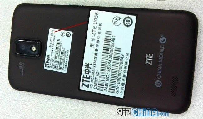 ZTE U956 leaked photos hero
