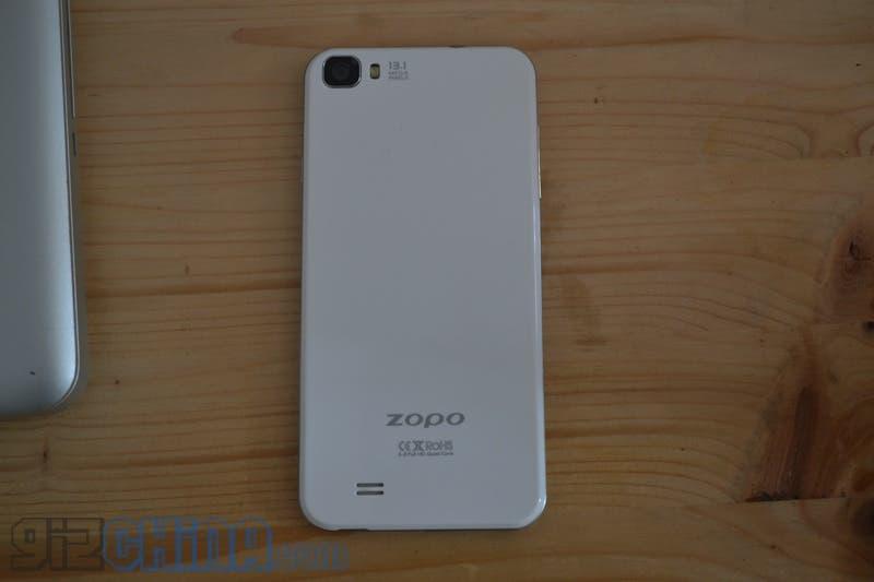 Zopo C2 16GB Platinum rear