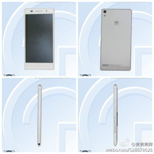 Huawei P6-U06 leaked