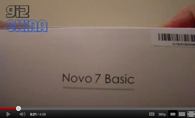 Ainol novo 7 ics hands on,ainol novo 7 ice cream sandwich tablet,ainol novo 7 unboxing,ainol novo 7 review,ainol novo 7 video review