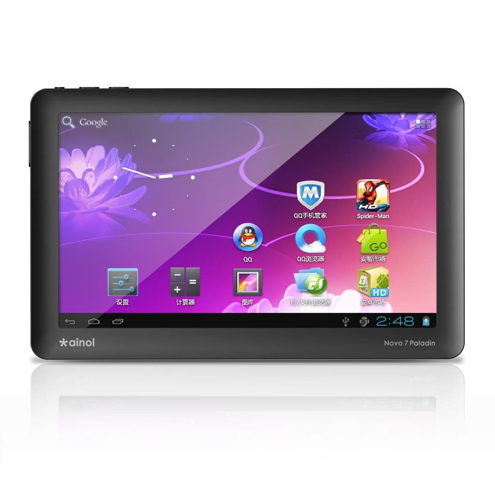 Ainol Novo 7 Paladin $79 Android 4.0 ICS tablet