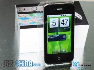 android a8 iphone 4 clone 300x225 Android A8 iPhone 4 Clone On Sale Soon!