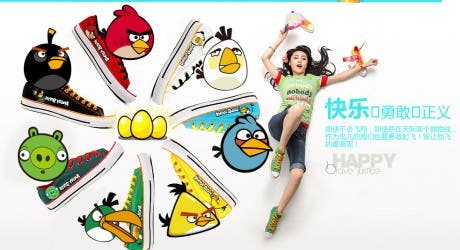 angry birds stores opening china,angry birds sneakers photo,angry birds store china image