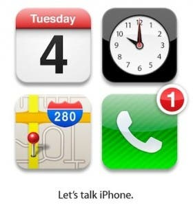 Foxconn Say 'No' iPhone 5 at 'Let's Talk iPhone' Event in October
