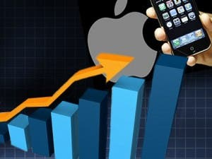 apple revenue grows in china
