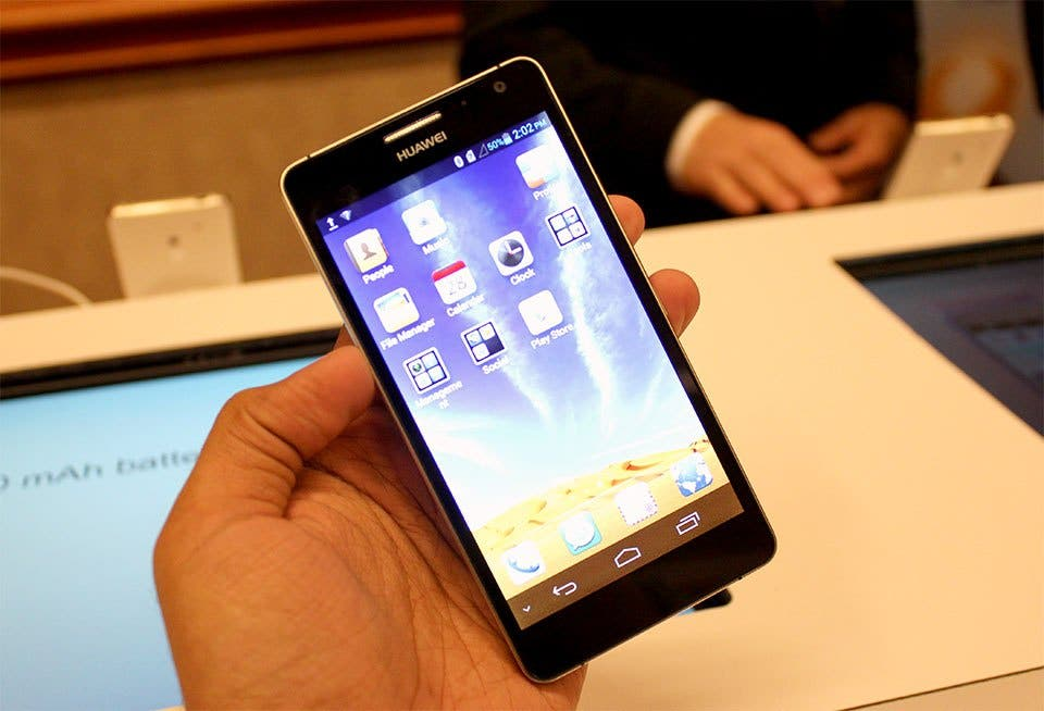 Huawei Ascend D2 launched at CES