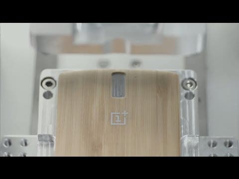 Video thumbnail for youtube video Bamboo OnePlus One Style Swap Covers launched at $49 - Gizchina.com