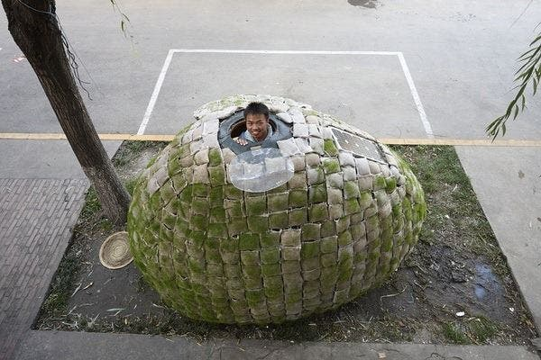 Beijing 'Egg' House Has Got To Go!