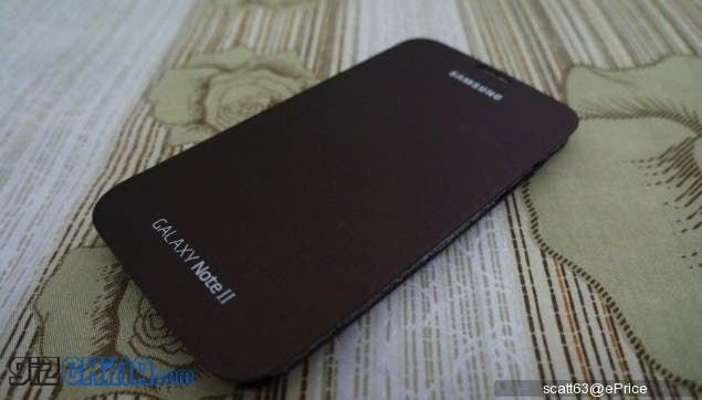 brown samsung galaxy note 2 case1 Real photos and unboxing of Amber Brown Samsung Galaxy Note 2
