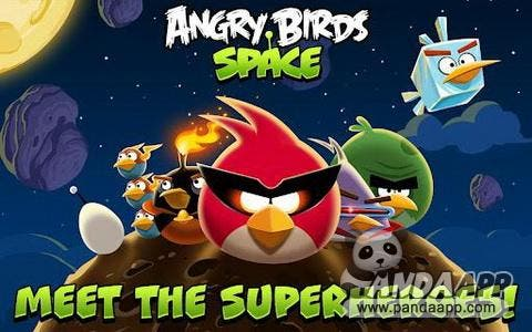 download angry birds space for Android free