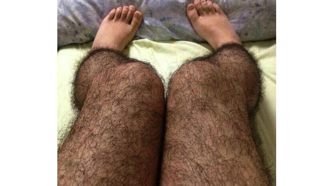 china hairy stockings