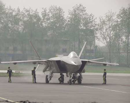 chinese j20 stealth fighter 2nd test flight