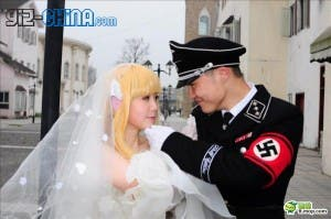 chinese nazi wedding 300x199 Chinese Nazi Cosplay Marriage!