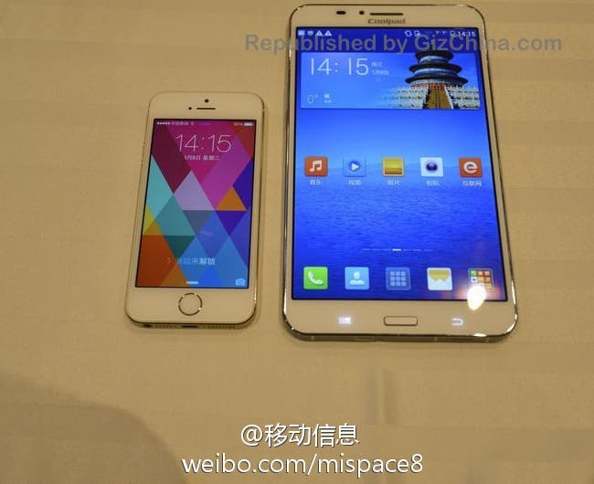 coolpad great god and iphone 5s