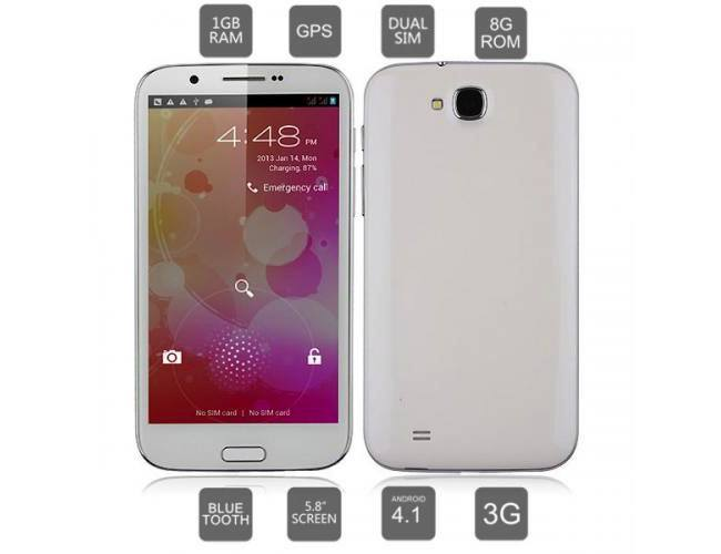 The Cubot A6589 is a quad-core MT6589 Galaxy Note 2 clone available now!