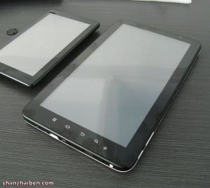 dawa d9 android tablet front