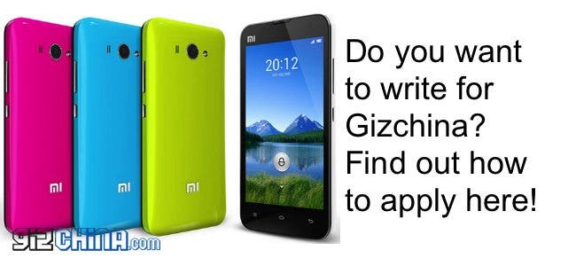 Do you want to write for Gizchina?