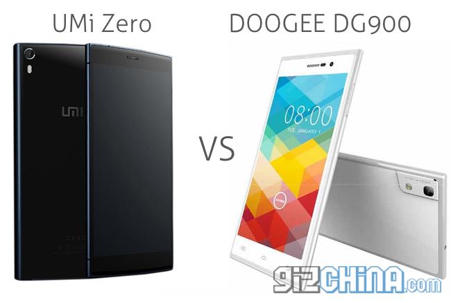 doogee dg900 vs umi zero