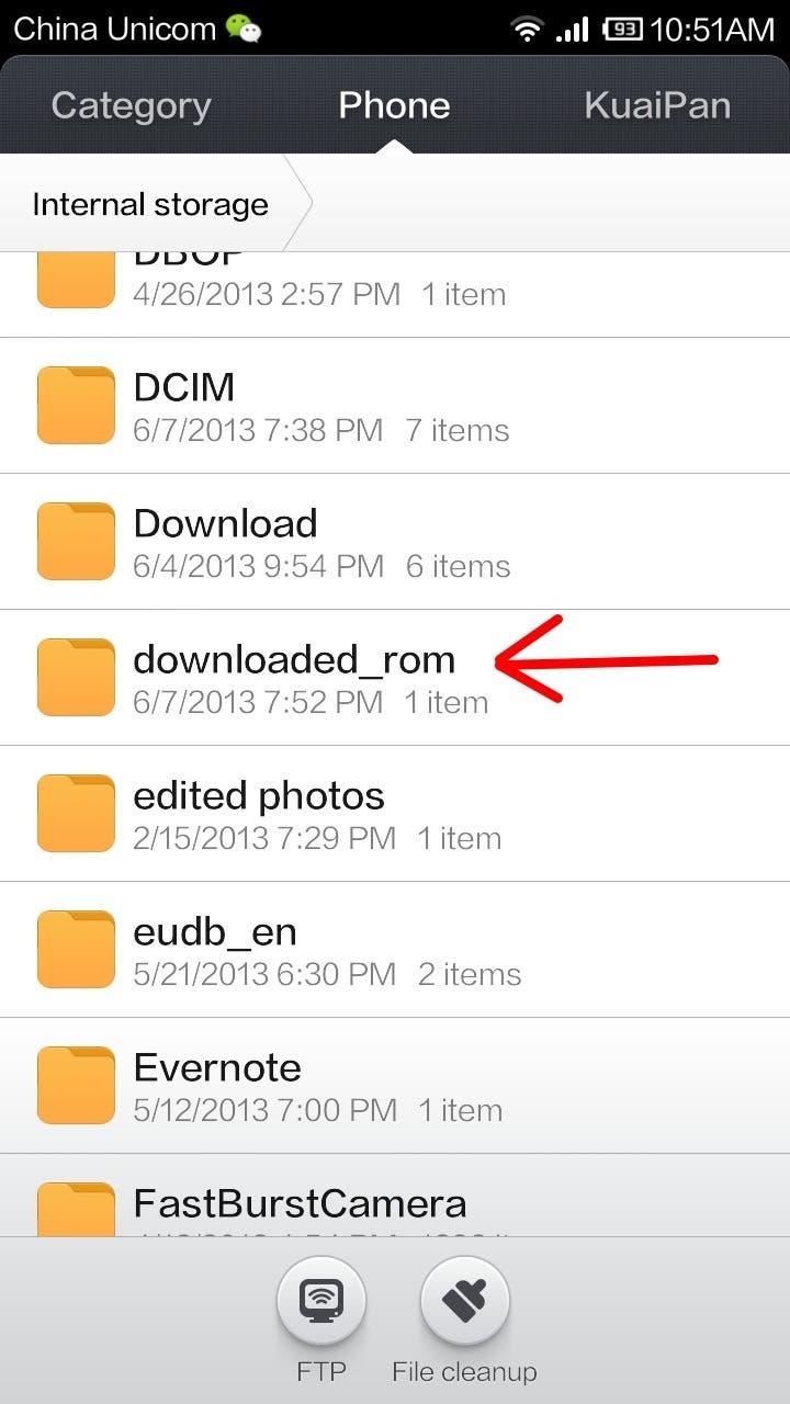 downloaded rom miui