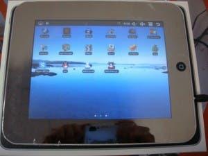 Chinese ipad mini knock off runs android os