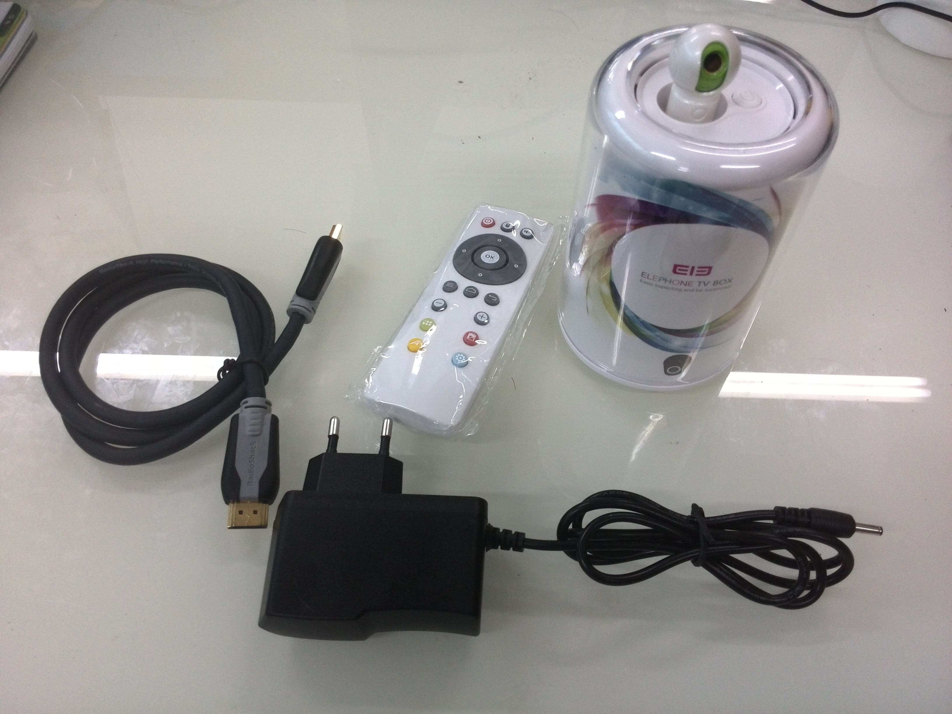 elephone tv box