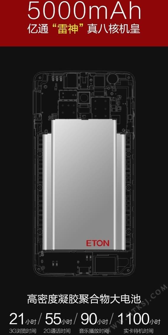 eton Raytheon 5000mah