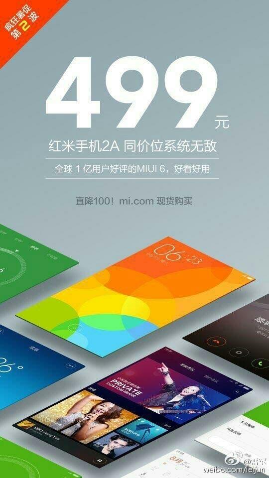 leadcore Xiaomi redmi 2a