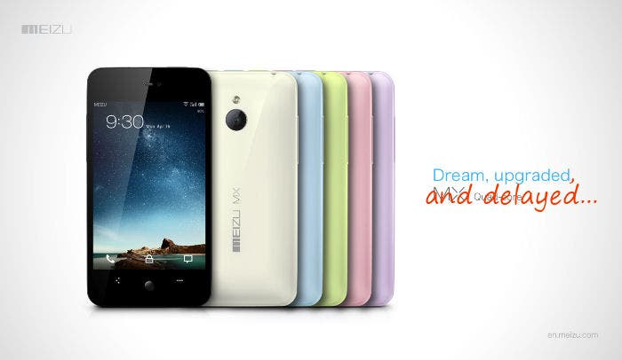 flyme os and meizu MX delayed until july