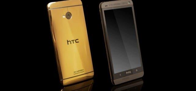 Gold HTC One by Goldgenie