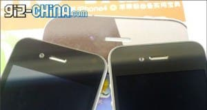 gooapple vs iphone 4 front