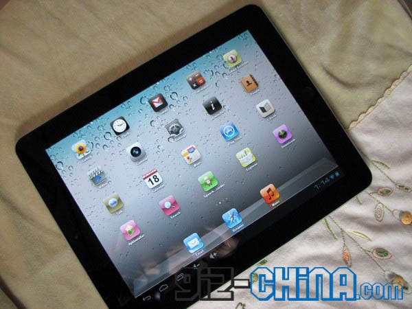 goopad android ics new ipad knock off china GooApple Releases GooPad Knock off iPad 3 with fake iOS