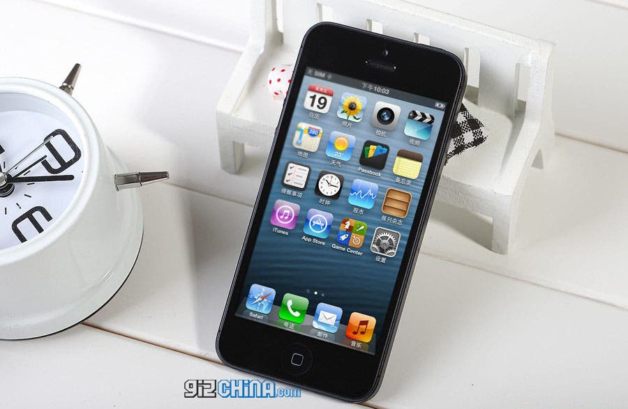 GooPhone i5 iPhone 5 clone specifications, photos and