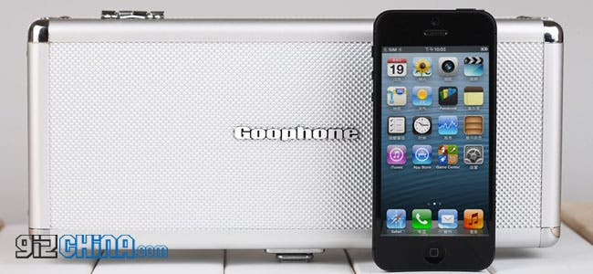 goophone i5 iphone 5 clone packaging leaked