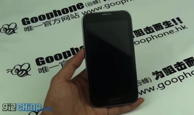 Goophone N2 Samsung Galaxy Note 2 Clone and first quad-core MT6589 phone!