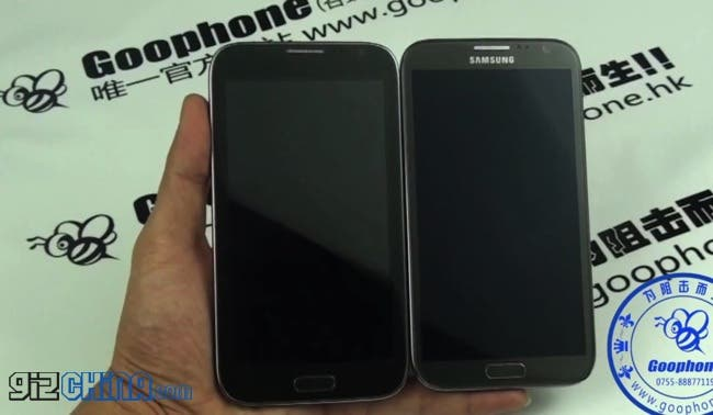 goophone n2 samsung galaxy note 2 clone with real note Goophone N2 Samsung Galaxy Note 2 Clone and first quad core MT6589 phone!