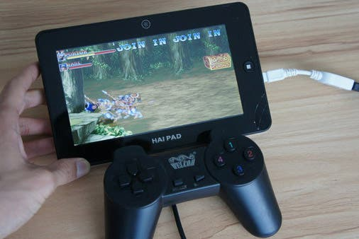haipad android gaming tablet double dragon