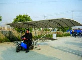 homemade plane from 125cc bike Retired Nanjing Worker Builds His Own Plane From 125cc Motorbike