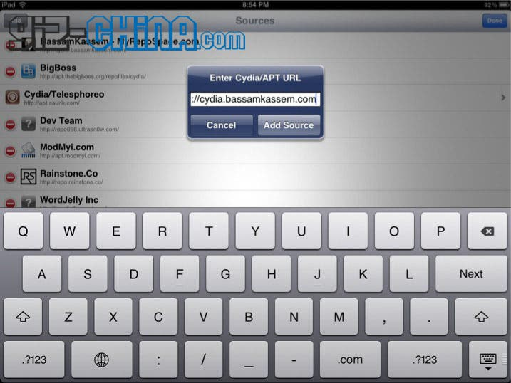 how to install siri on the ipad 1 with wordjelly server