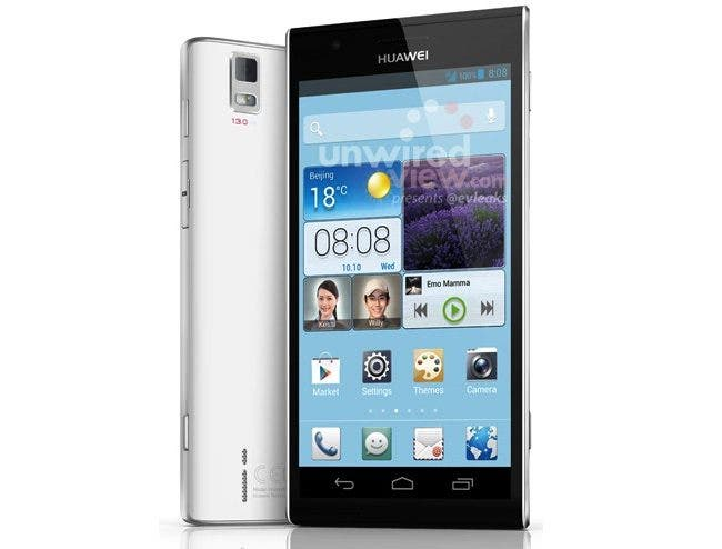 Huawei Ascend P2 Leaked ahead of MWC