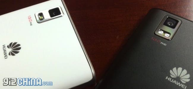 Huawei Ascend P2 caught on camera once more!