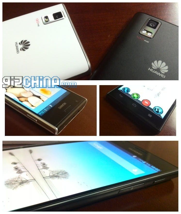 huawei ascend p2 leaked phtotos Huawei Ascend P2 caught on camera once more!