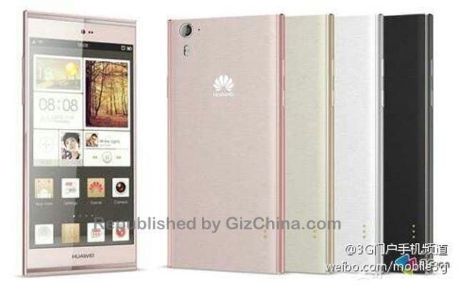 huawei ascend p7 leaked